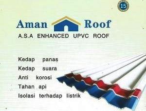 Atap UPVC Aman Roof