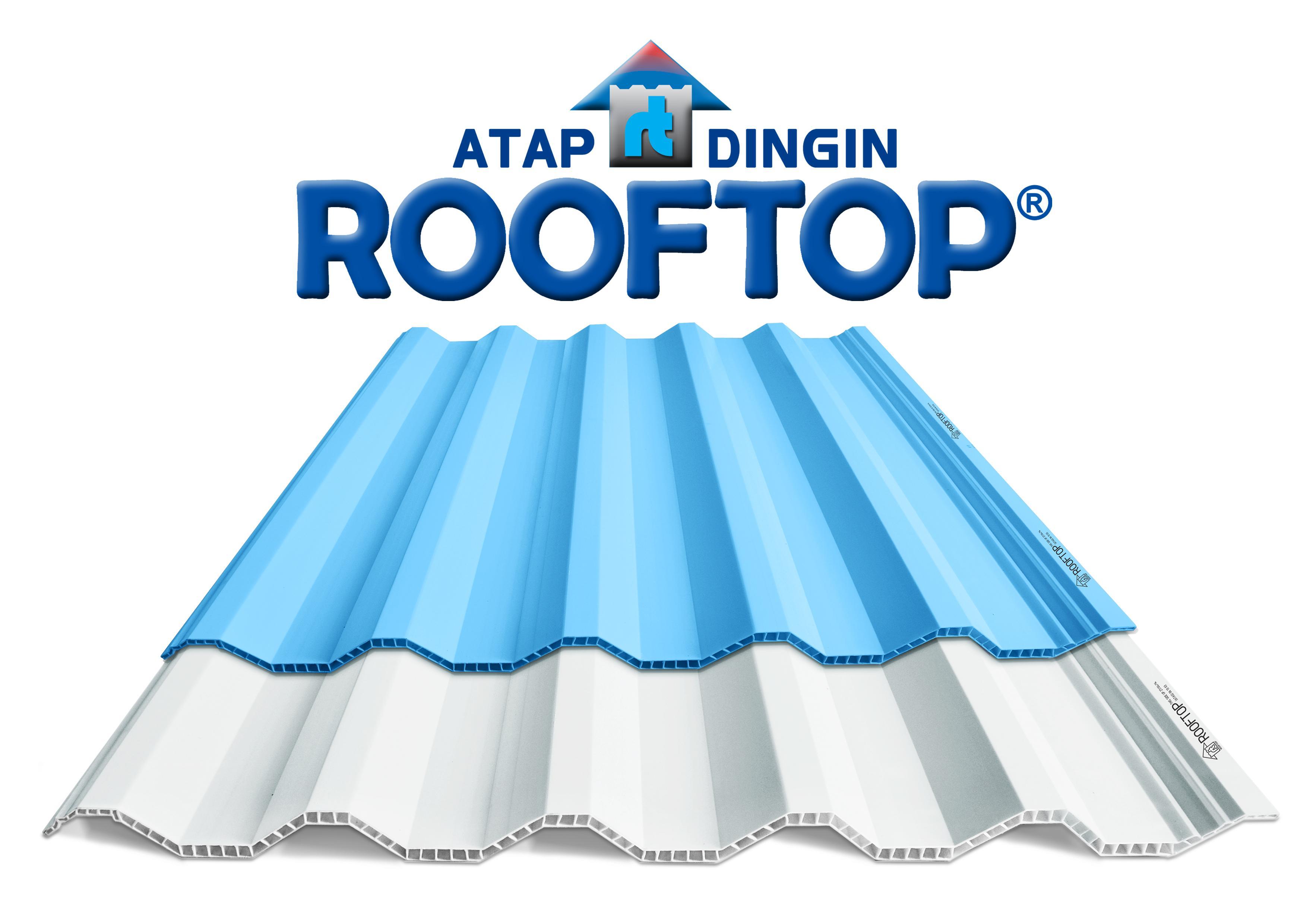 Supplier Atap UPVC Rooftop | Harga Per Meter - 082126766662