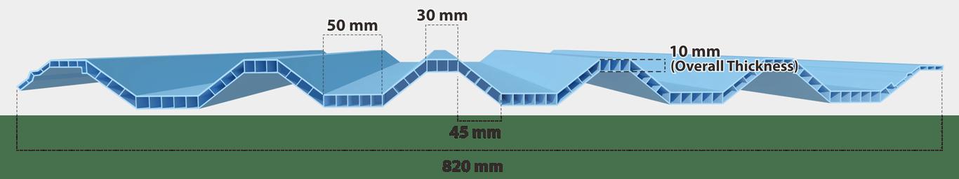 jual atap upvc rooftop per meter