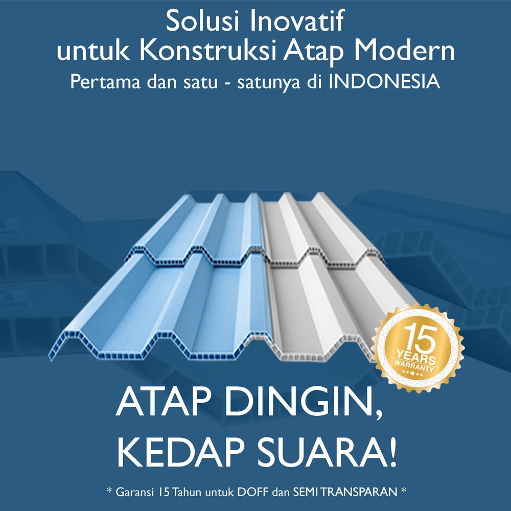 Supplier Atap UPVC Rooftop Jakarta