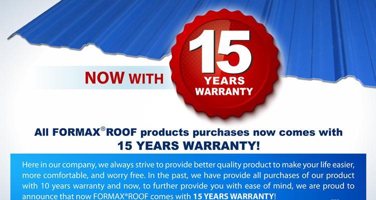 Supplier Atap UPVC Formax Roof Bogor