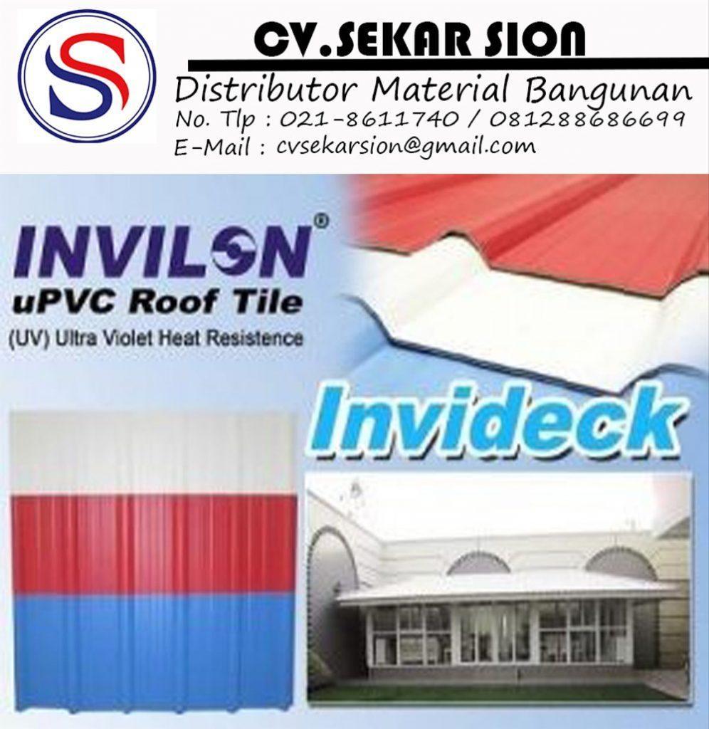 Supplier Atap UPVC Invideck Bandung