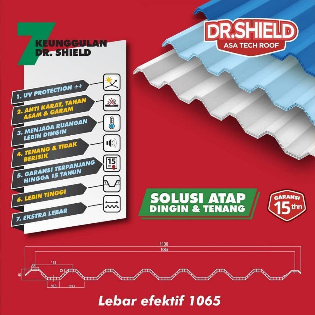 keunggulan atap upvc dr shield