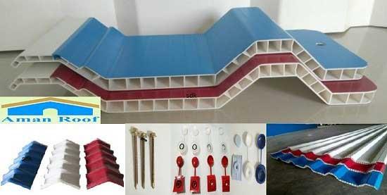 warna atap upvc aman roof
